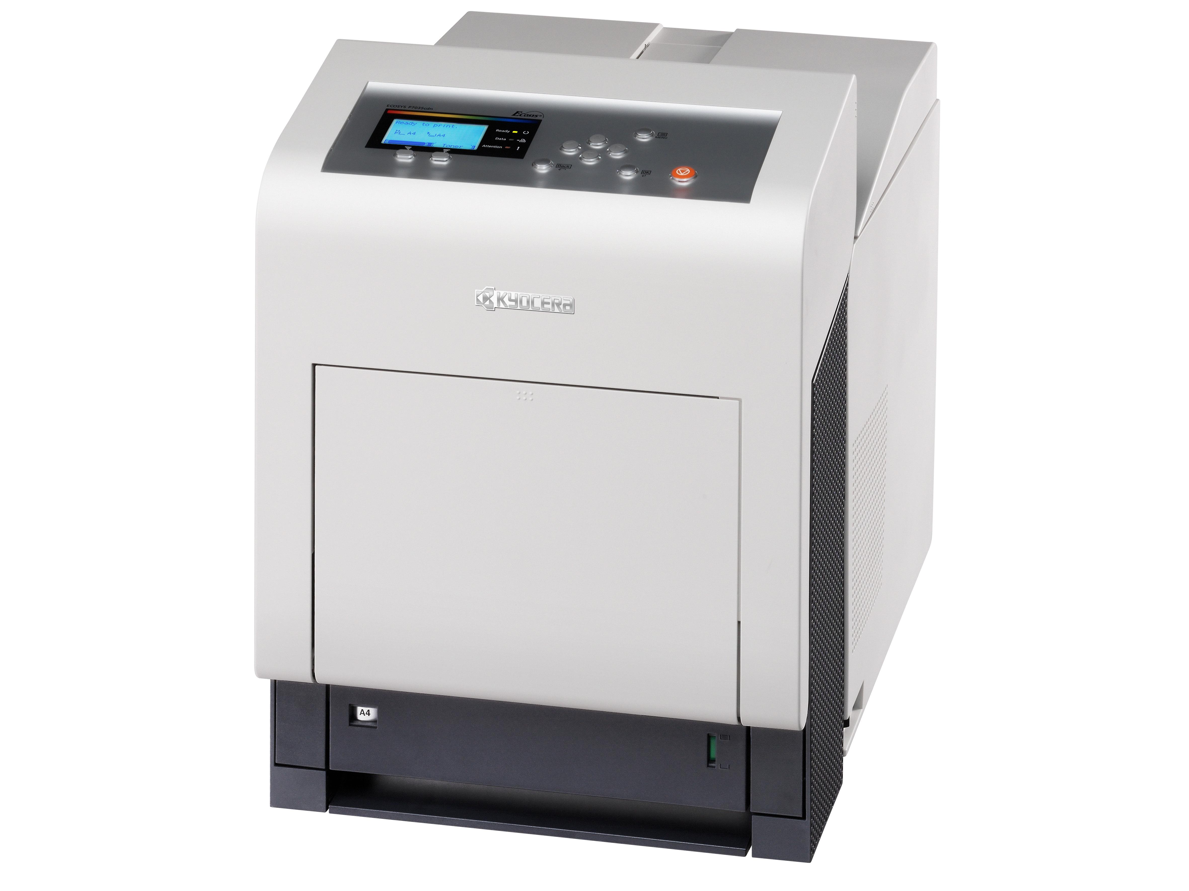 Kyocera ECOSYS P7035cdn - Drucker Farbig Laser/LED-Druck - 9.600 dpi - 35 ppm