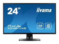 ProLite X2481HS-B1 - 59,9 cm (23.6 Zoll) - 1920 x 1080 Pixel - Full HD - LED - 6 ms - Schwarz