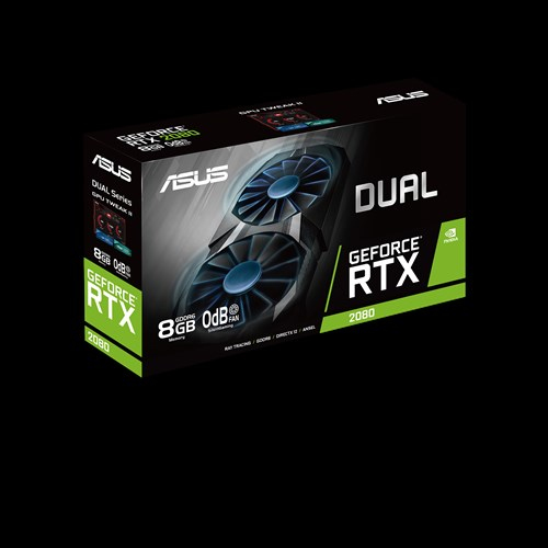 Mobile Preview: ASUS DUAL-RTX2080-8G - Grafikkarten - GF RTX 2080