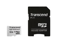 Hochbelastbare - Flash-Speicherkarte (microSDHC/SD-Adapter inbegriffen) - 32 GB
