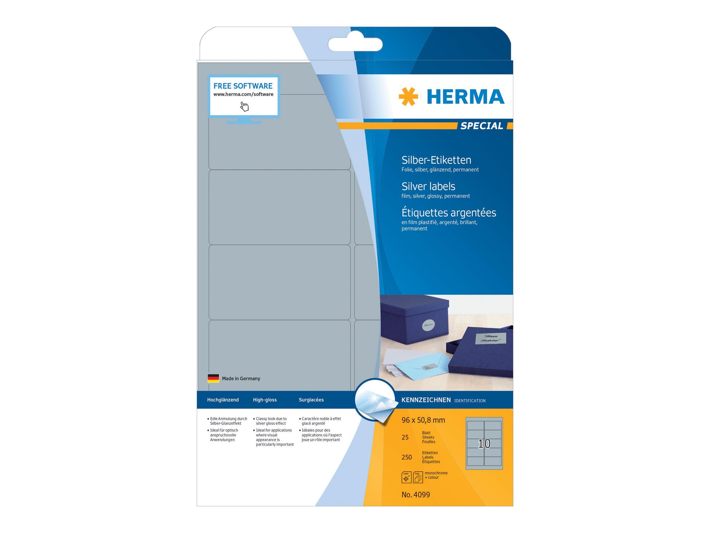 HERMA Special - Polyester - glänzend