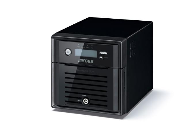Buffalo TeraStation 5200DWR 6TB NAS Eingebauter Ethernet-Anschluss Schwarz