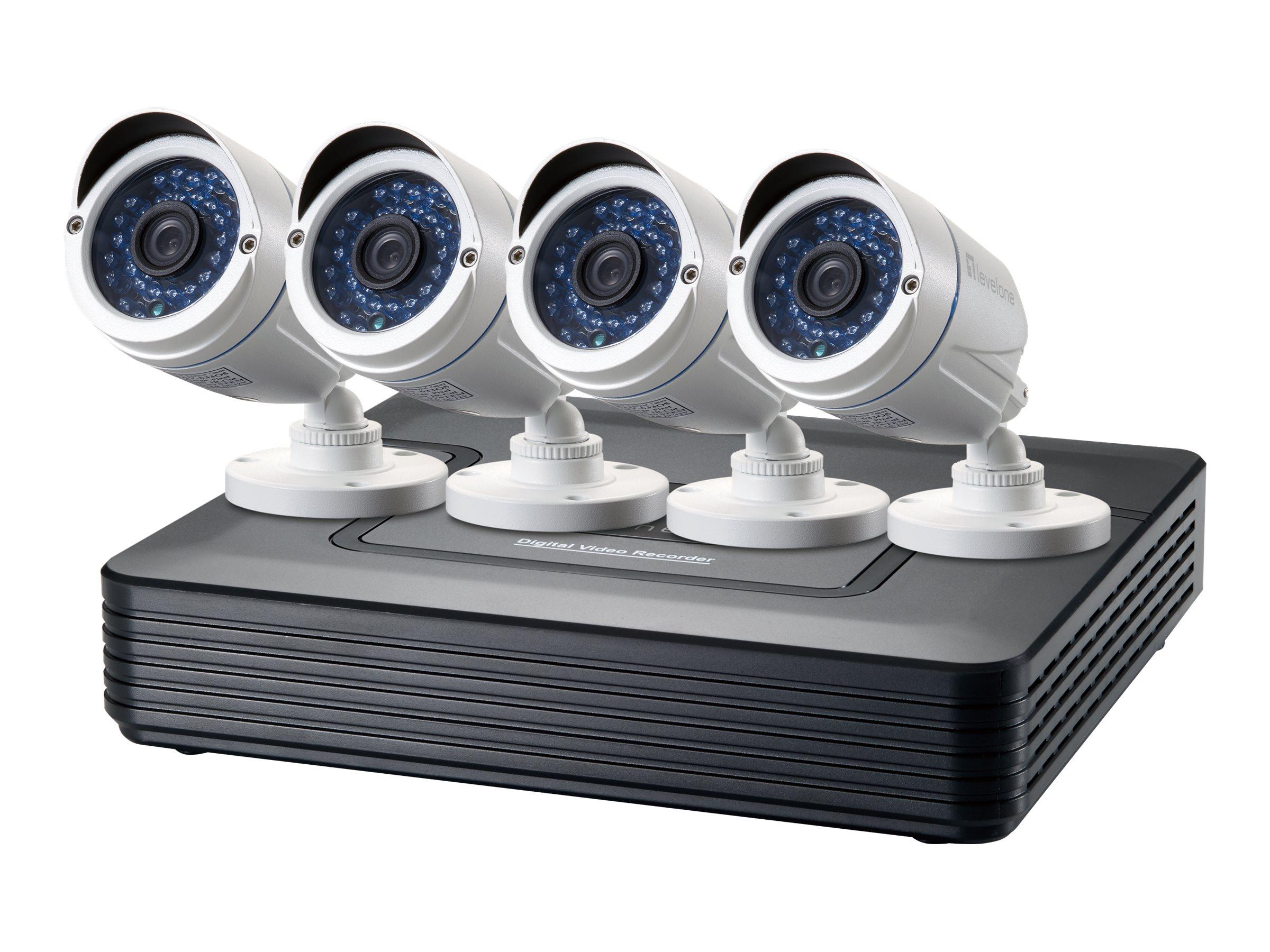 LevelOne DSK-8001 - DVR + Kamera(s) - verkabelt