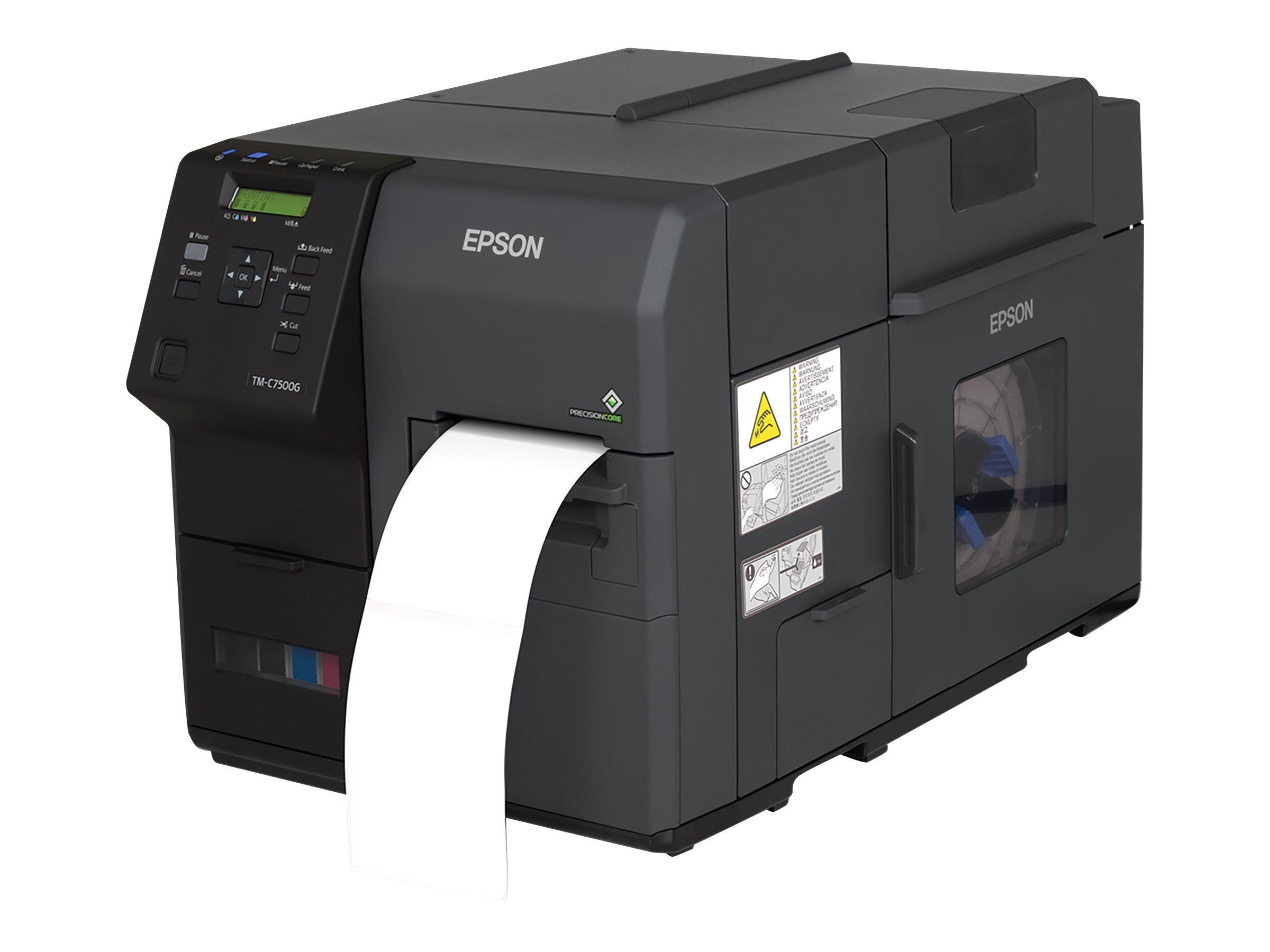Vorschau: Epson ColorWorks TM-C7500G - Etikettendrucker