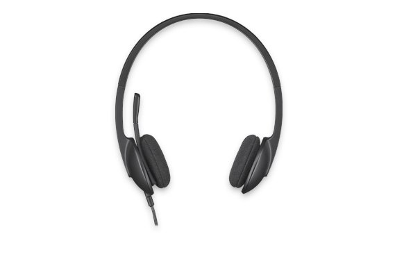 Logitech H340 Binaural Kopfband Schwarz Headset