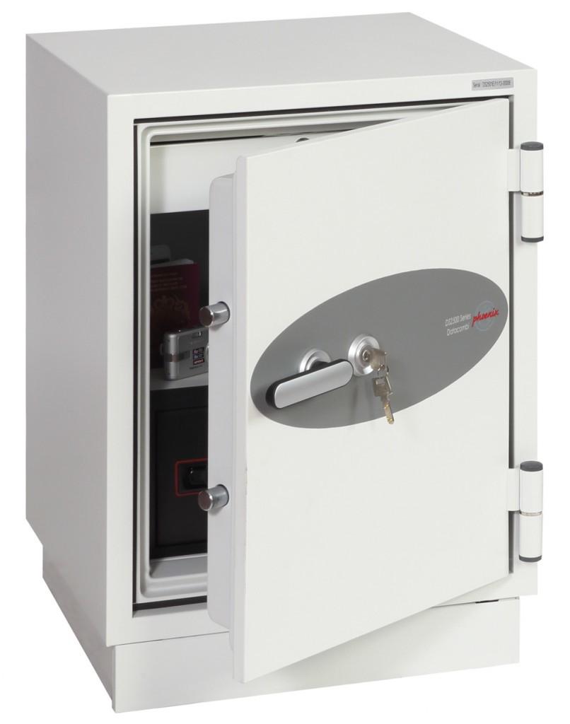 Phoenix Safe Phoenix DS2501K - Weiß - Flachschlüssel - 63 l - 500 mm - 500 mm - 720 mm