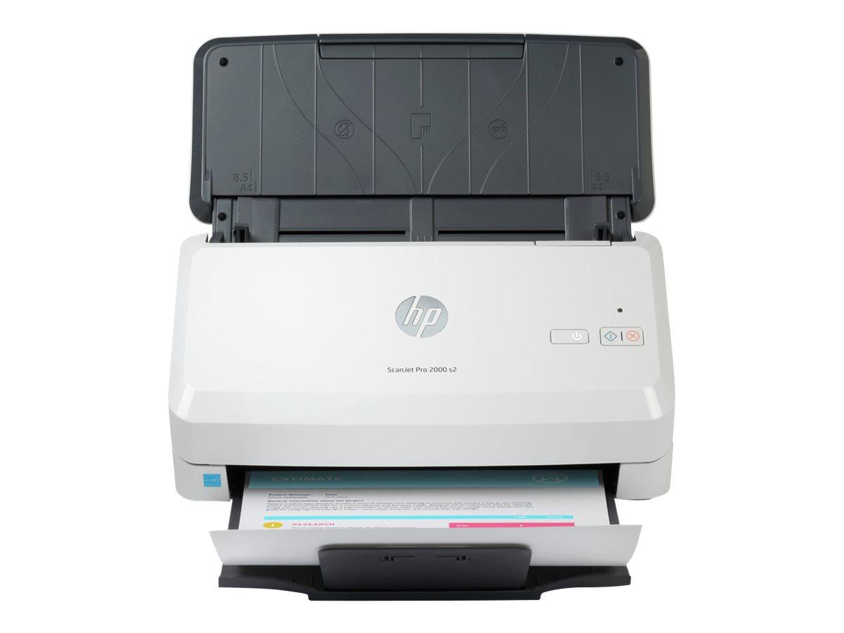 HP Scanjet Pro 2000 s2 Sheet-feed - Dokumentenscanner - Duplex - 216 x 3100 mm - 600 dpi x 600 dpi - bis zu 35 Seiten/Min. (einfarbig)