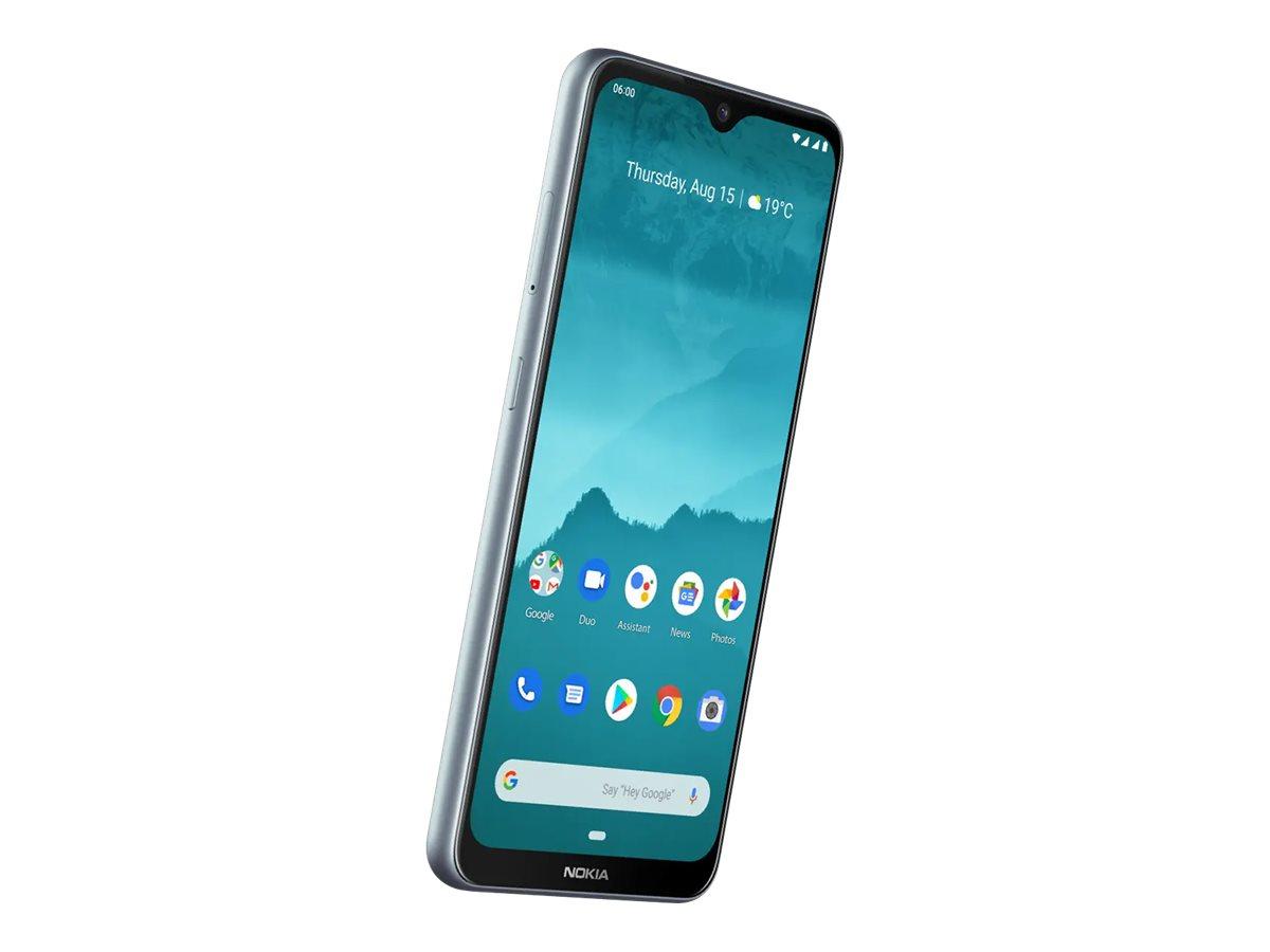 "Nokia 6.2 - Android One - Smartphone - Dual-SIM - 4G LTE - 64 GB - microSD slot - 6.3"" - PureDisplay - RAM 4 GB (8 MP Vorderkamera)"