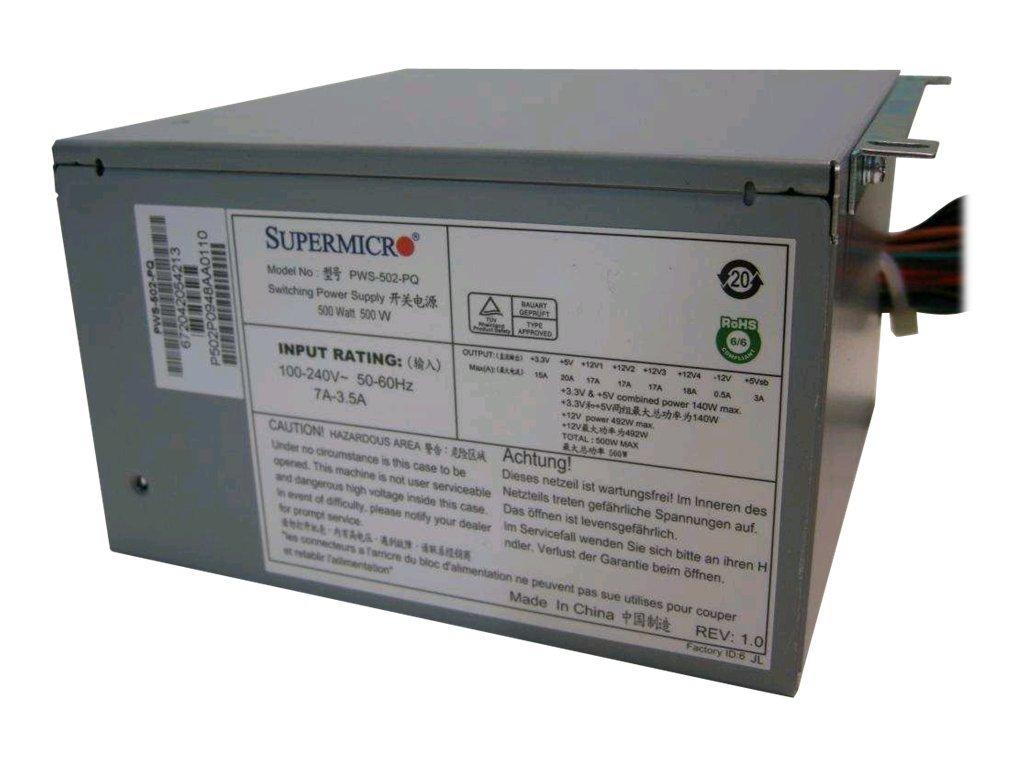 Supermicro PWS-502-PQ - Stromversorgung ( intern )