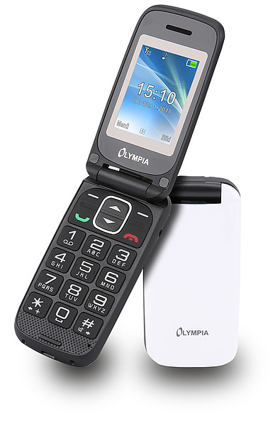 Olympia Classic Mini II - Drehen - Single SIM - 5,08 cm (2 Zoll) - Bluetooth - Weiß