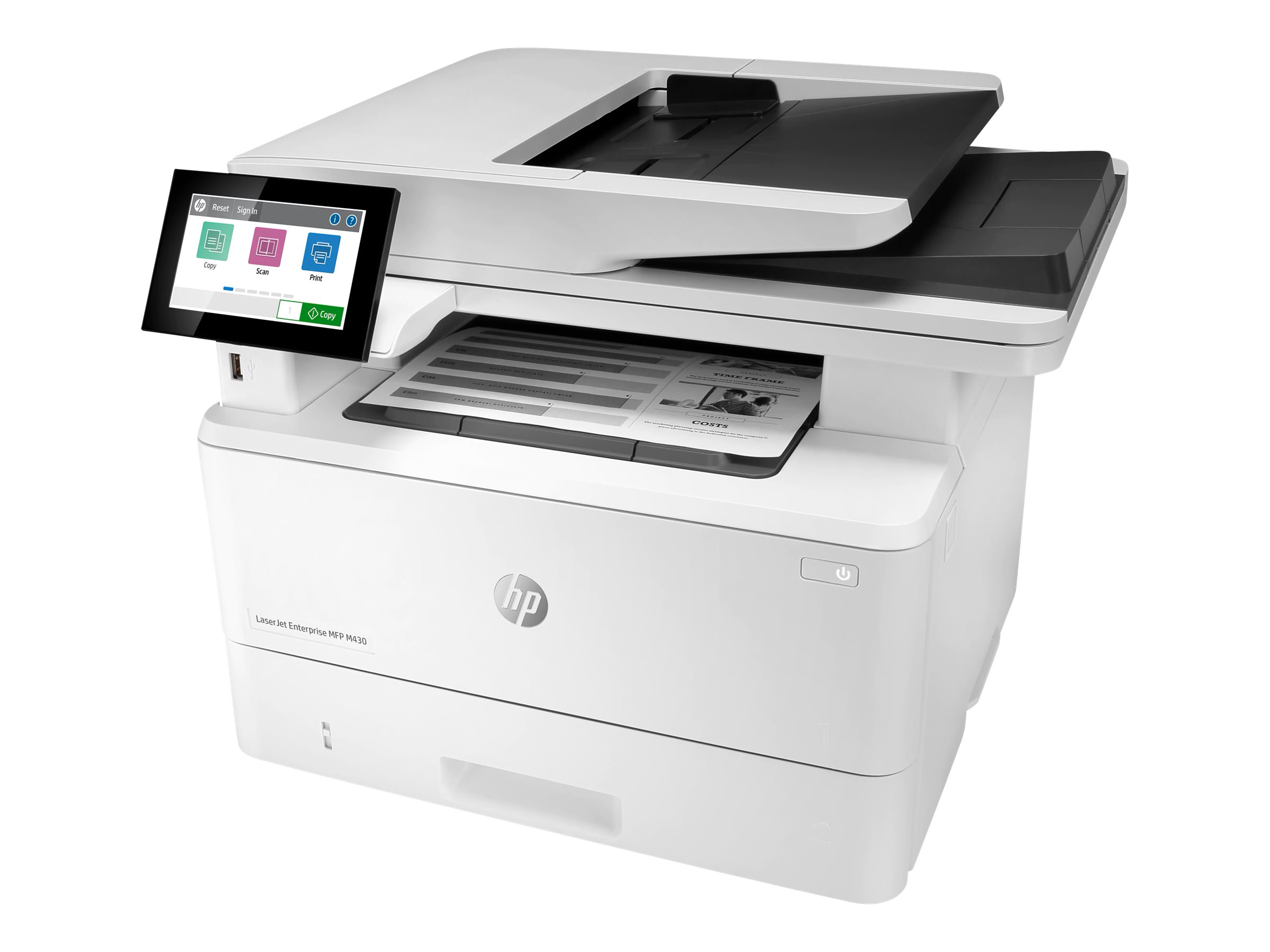 HP LaserJet Enterprise MFP M430f - Multifunktionsdrucker - s/w - Laser - 216 x 297 mm (Original)
