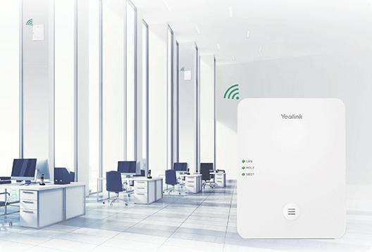 Yealink W80DM - Basisstation für schnurloses Telefon/VoIP-Telefon mit Rufnummernanzeige