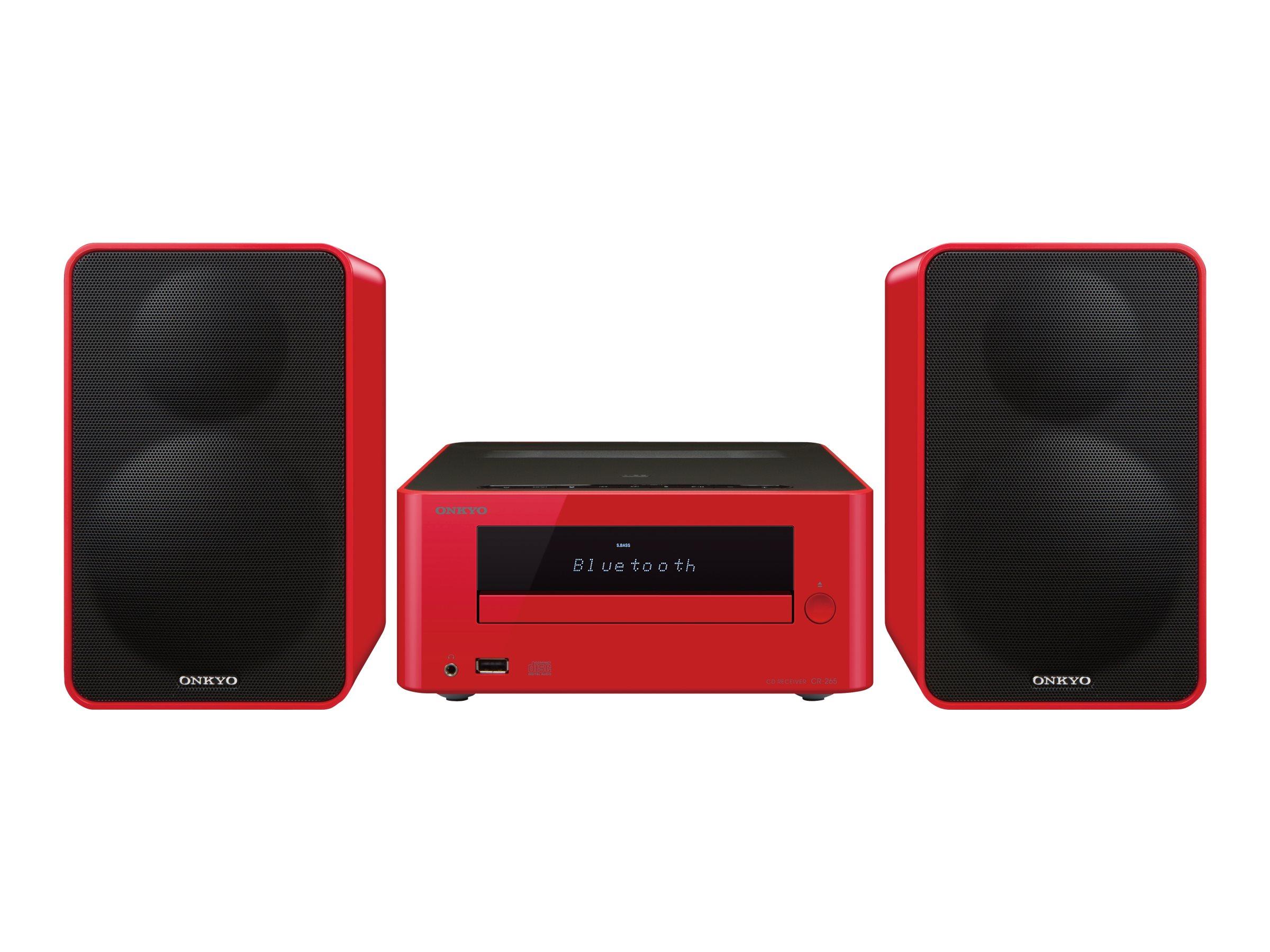 Onkyo CS-265 - Minisystem - Rot