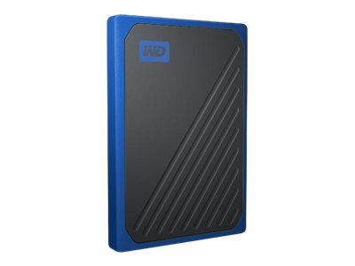 WD My Passport Go WDBMCG5000ABT - 500 GB SSD - extern (tragbar)