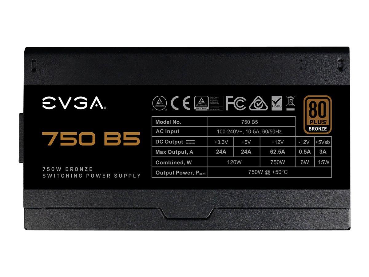 Vorschau: EVGA 750 B5 - Stromversorgung (intern) - ATX12V / EPS12V