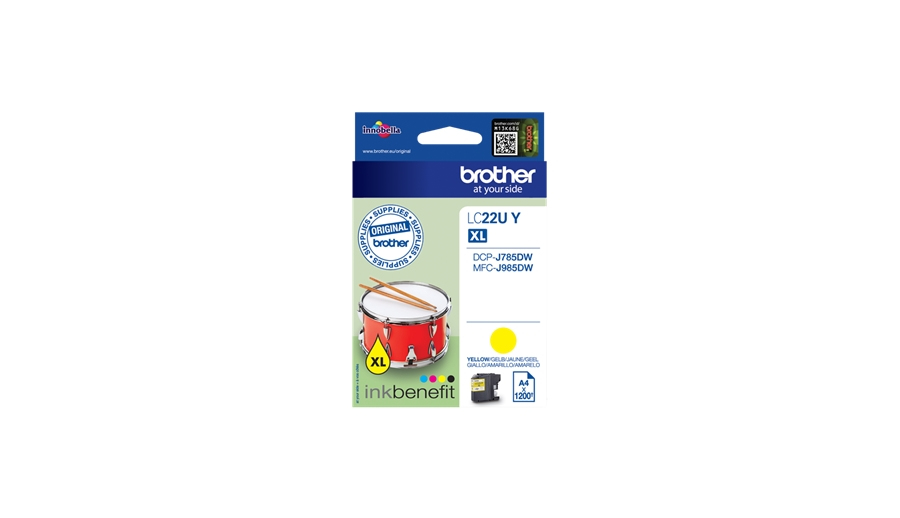 Brother LC22UY - XL - Gelb
