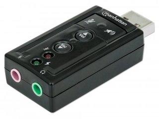 Manhattan 151429 Eingebaut 7.1Kanäle USB Audiokarte