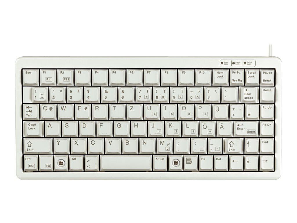 Cherry Compact-Keyboard G84-4100 - Tastatur - USB