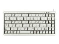G84-4100 Tastatur USB QWERTZ Deutsch Grau