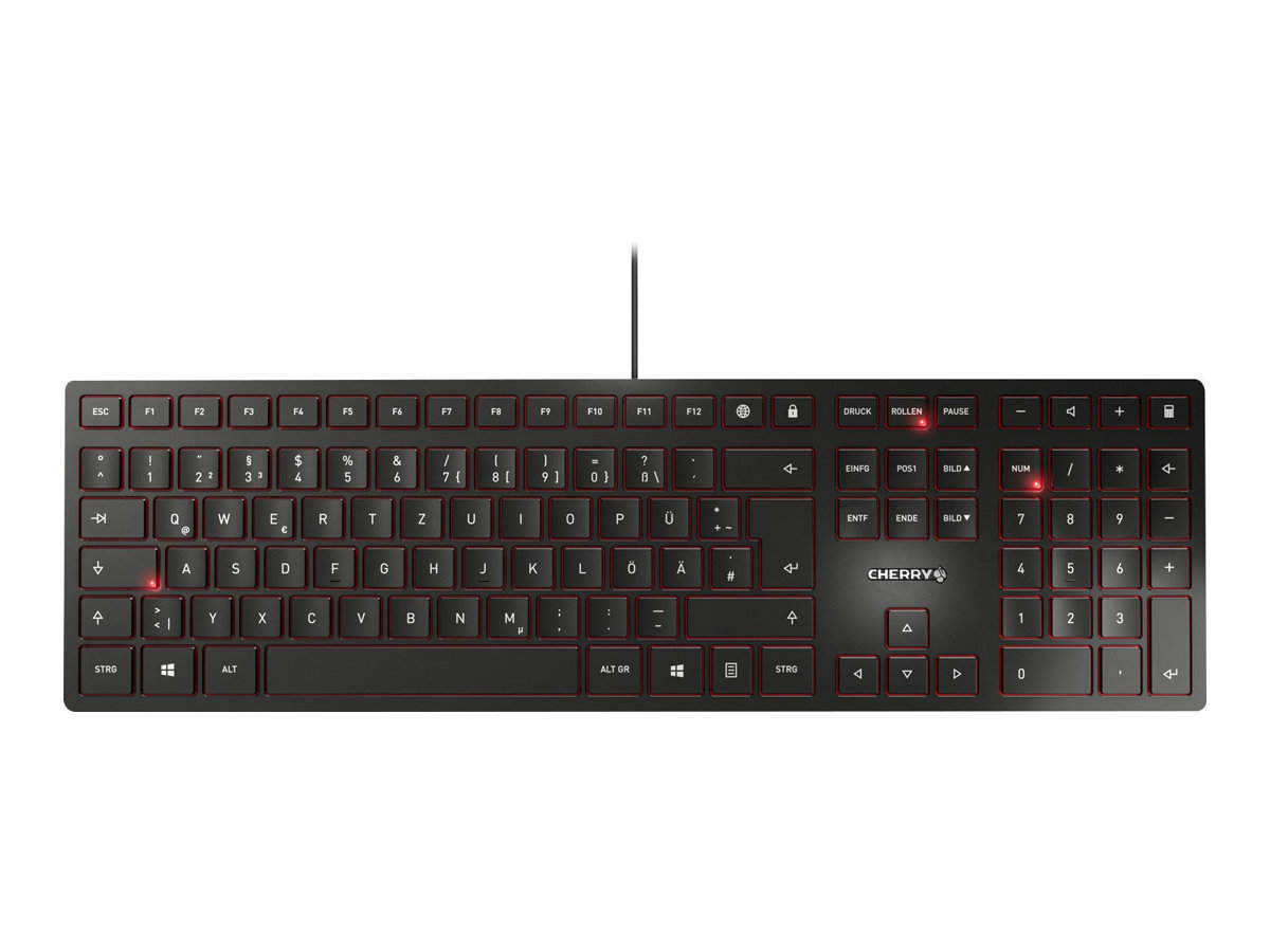 Cherry KC 6000 SLIM - Tastatur - USB - Deutsch