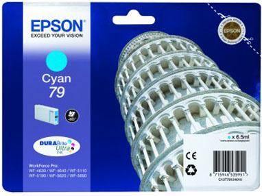 Epson C13T79124010 Cyan Tintenpatrone