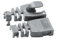 Lindy Kabelknickschutz STP/UTP grau 10er Pack - Zubehör PC