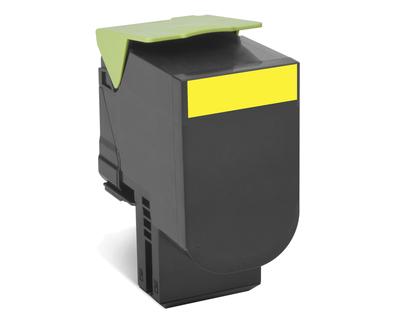 Lexmark 702Y R Laser cartridge 1000Seiten Gelb