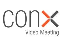 ConX Video Meeting - Abonnement-Lizenz (2 Jahre) - 50 Plätze pro Besprechungsraum, 1 Video-Besprechungsraum