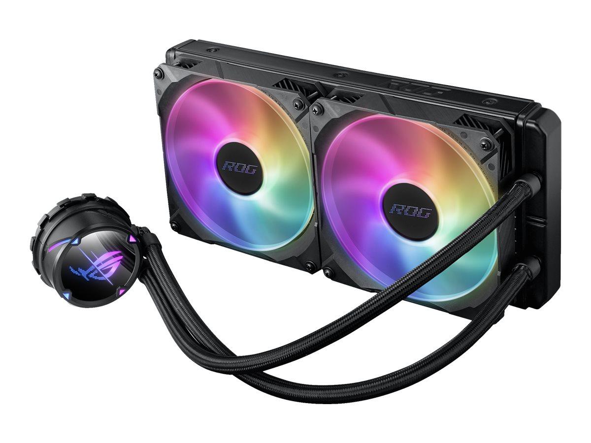 Vorschau: ASUS ROG STRIX LC II 280 ARGB - Prozessor-Flüssigkeitskühlsystem - (für: LGA1156, LGA1366, LGA1155, LGA2011, LGA1150, LGA2011-3, LGA1151, AM4, LGA2066, TR4, LGA1200)