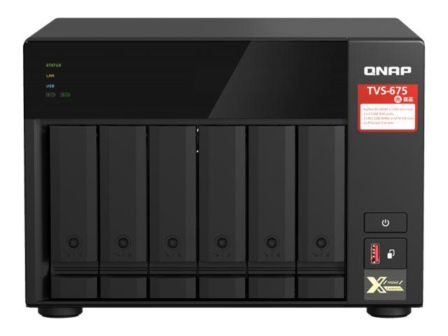 QNAP TVS-675 - NAS-Server - 6 Schächte - SATA 6Gb/s