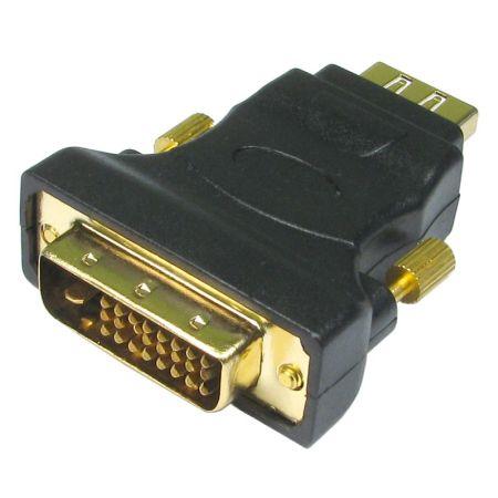 Spire DVID HDMI DVID 25pin HDMI 19pin Male/Female Black