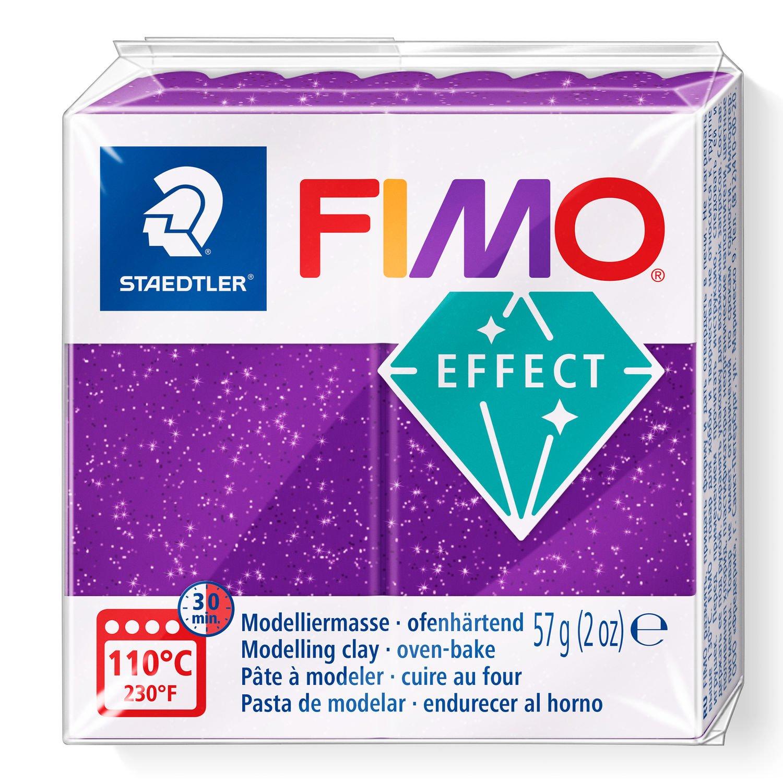 Vorschau: STAEDTLER FIMO 8020 - Knetmasse - Violett - Erwachsene - 1 Stück(e) - Glitter purple - 1 Farben