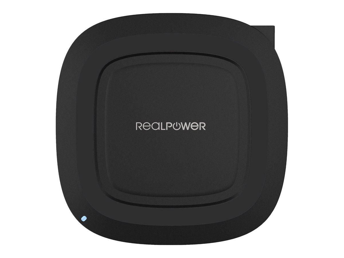 Ultron Realpower FreeCharge-10 - Kabelloses Ladegerät + AC-Netzteil