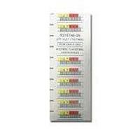 3-05400-04 Barcode-Etikett Weiß