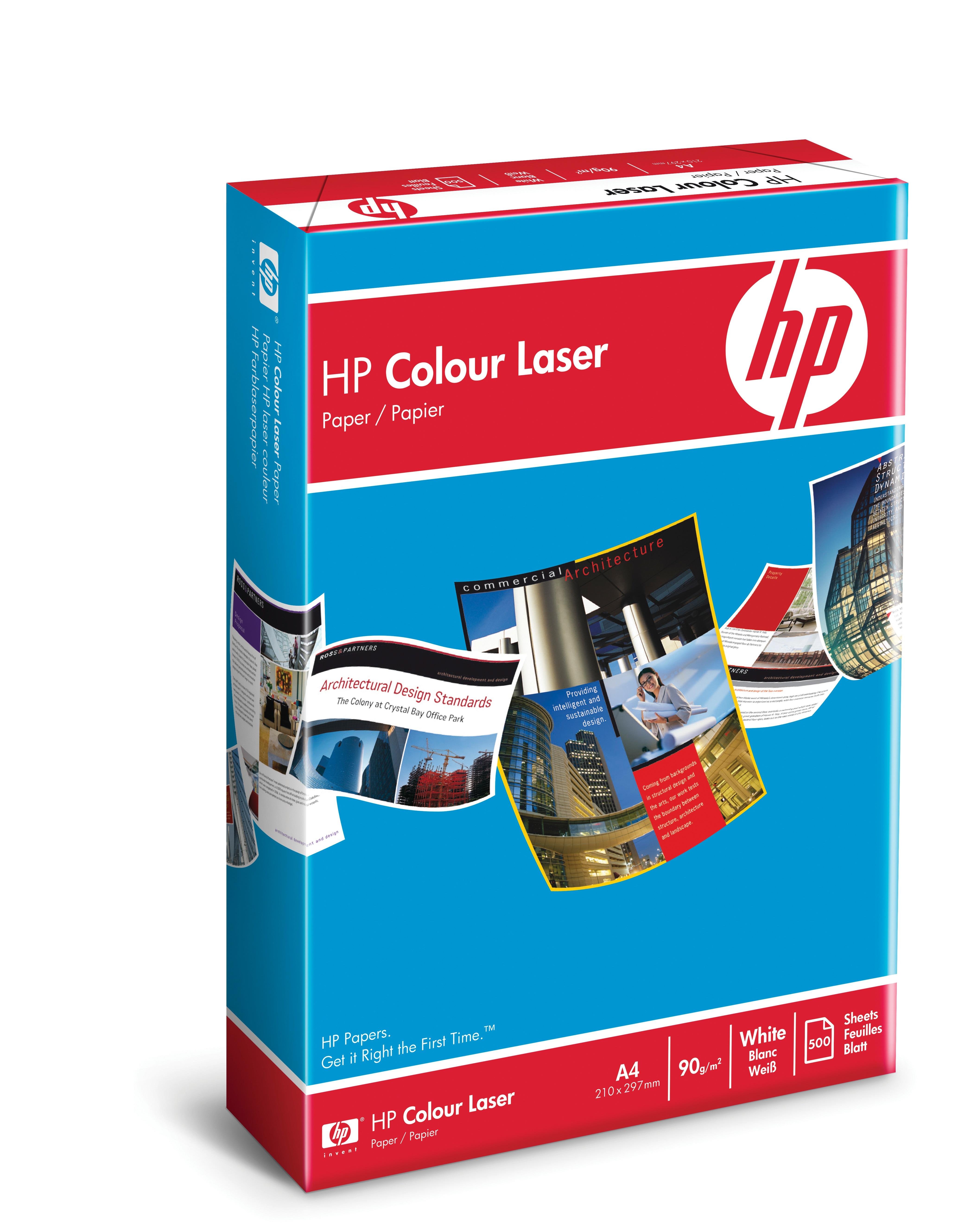 HP Color Laser Paper - A4 (210 x 297 mm) - 90 g/m²