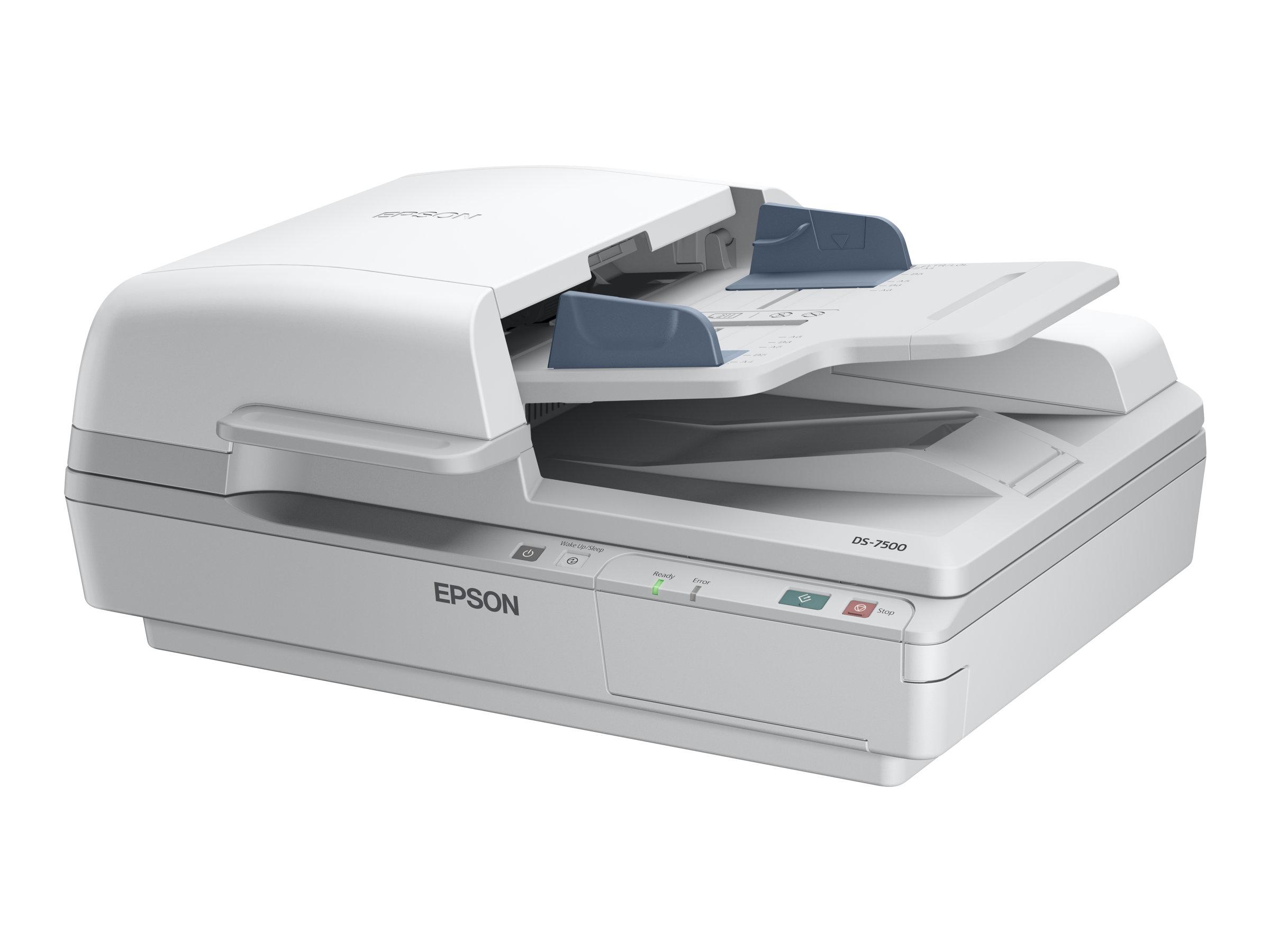Epson WorkForce DS-6500 - Dokumentenscanner - Duplex - A4 - 1200 dpi x 1200 dpi - bis zu 25 Seiten/Min. (einfarbig)