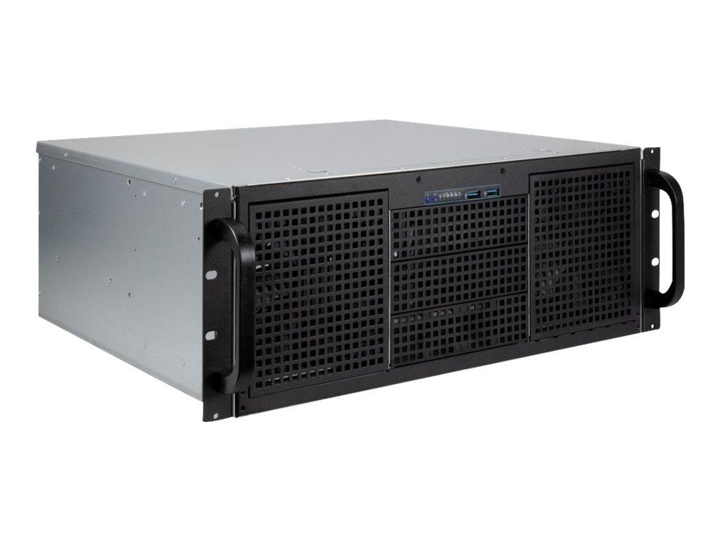 Inter-Tech IPC 4U-40240 - Rack-Montage - 4U - ATX - ohne Netzteil (ATX)