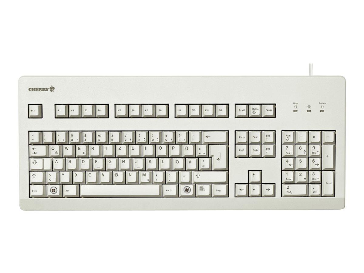 Cherry G80-3000 - Tastatur - PS/2, USB - Deutsch