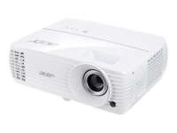 Home V6810 Beamer 2200 ANSI Lumen DLP 2160p (3840x2160) Ceiling-mounted projector Weiß