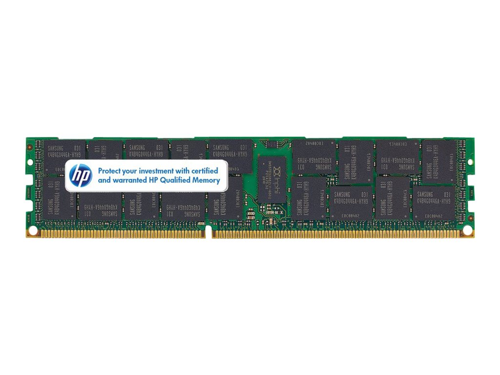 HP 4GB 1x 4GB PC3-10600 DDR3-1333 Reg CAS-9 (593339-B21) - REFURB