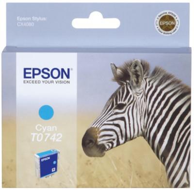 Epson Singlepack Cyan T0742
