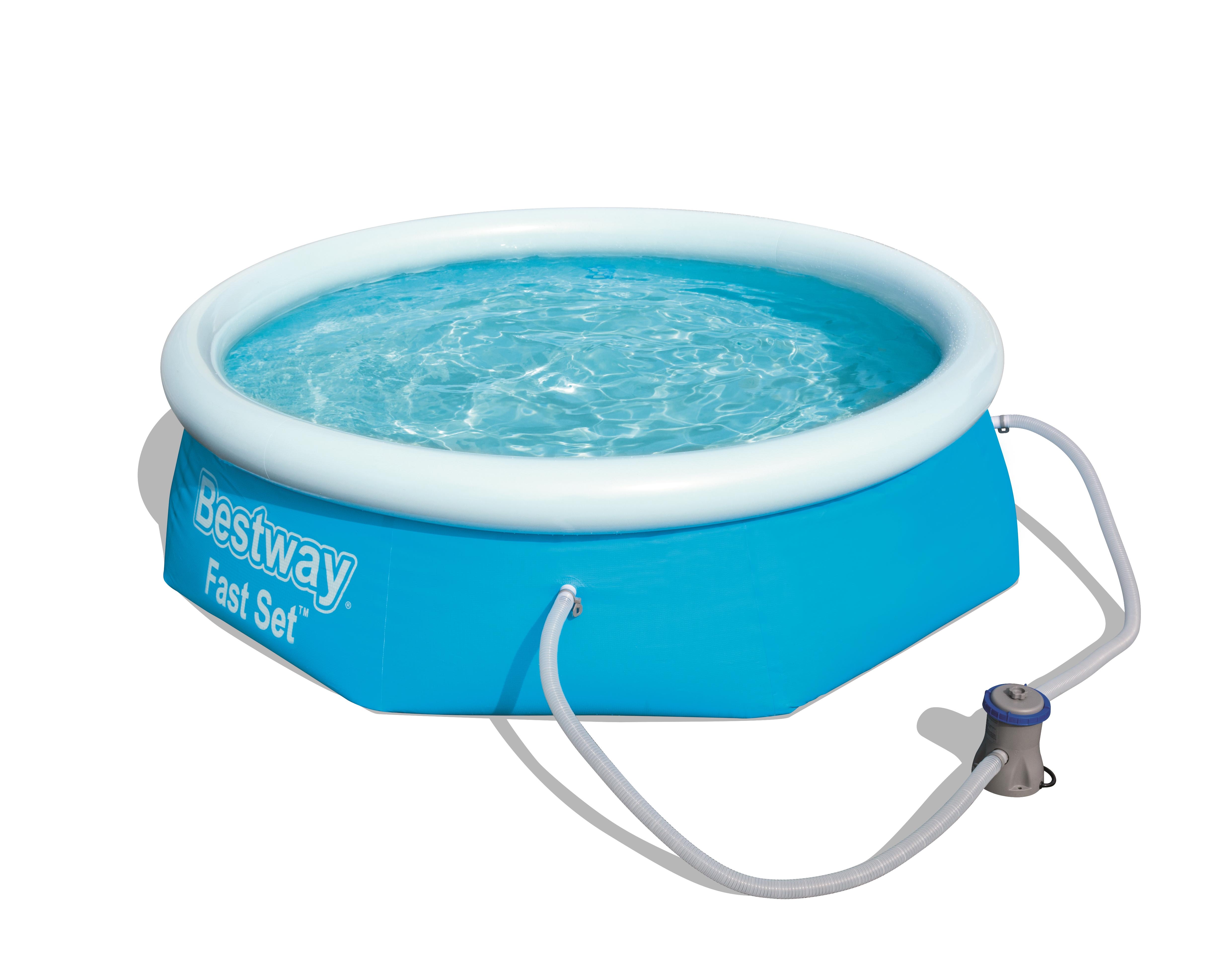 Lay-Z-Spa Bestway Fast Set 57268 - 2300 l - Aufblasbarer Pool - Blau