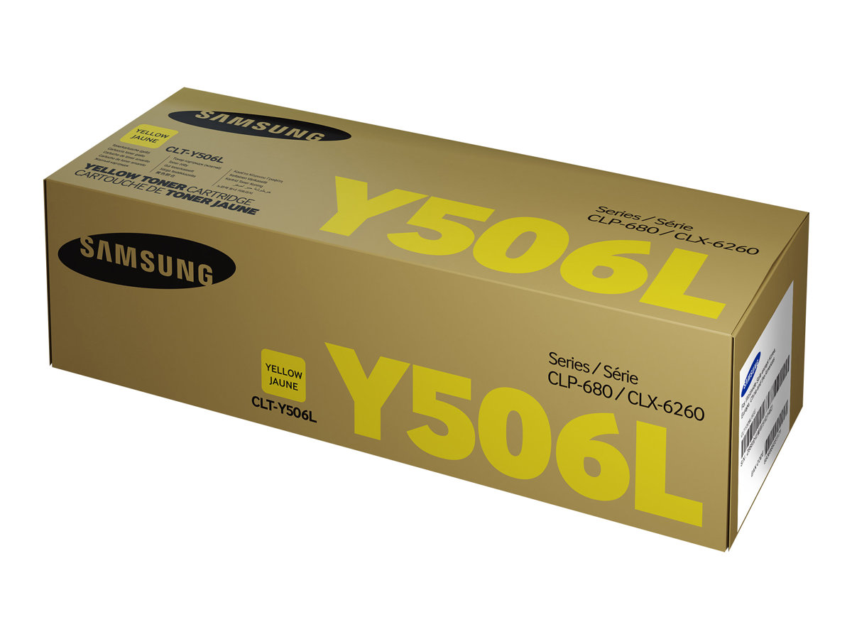HP Samsung CLT-Y506L - Hohe Ergiebigkeit - Gelb - Original - Tonerpatrone (SU515A)