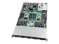 "R1208WT2GSR Server-Barebone Intel® C612 LGA 2011-v3 Custom 16.7"" x 17"" Schwarz - Silber"