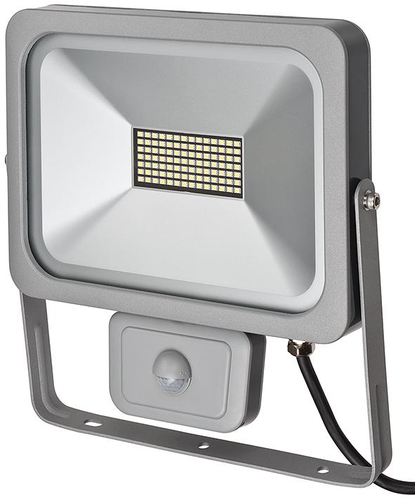 Brennenstuhl L DN 9850 FL PIR DE 3925 - Oberfläche - 1 Glühbirne(n) - 6500 K - IP54 - Silber