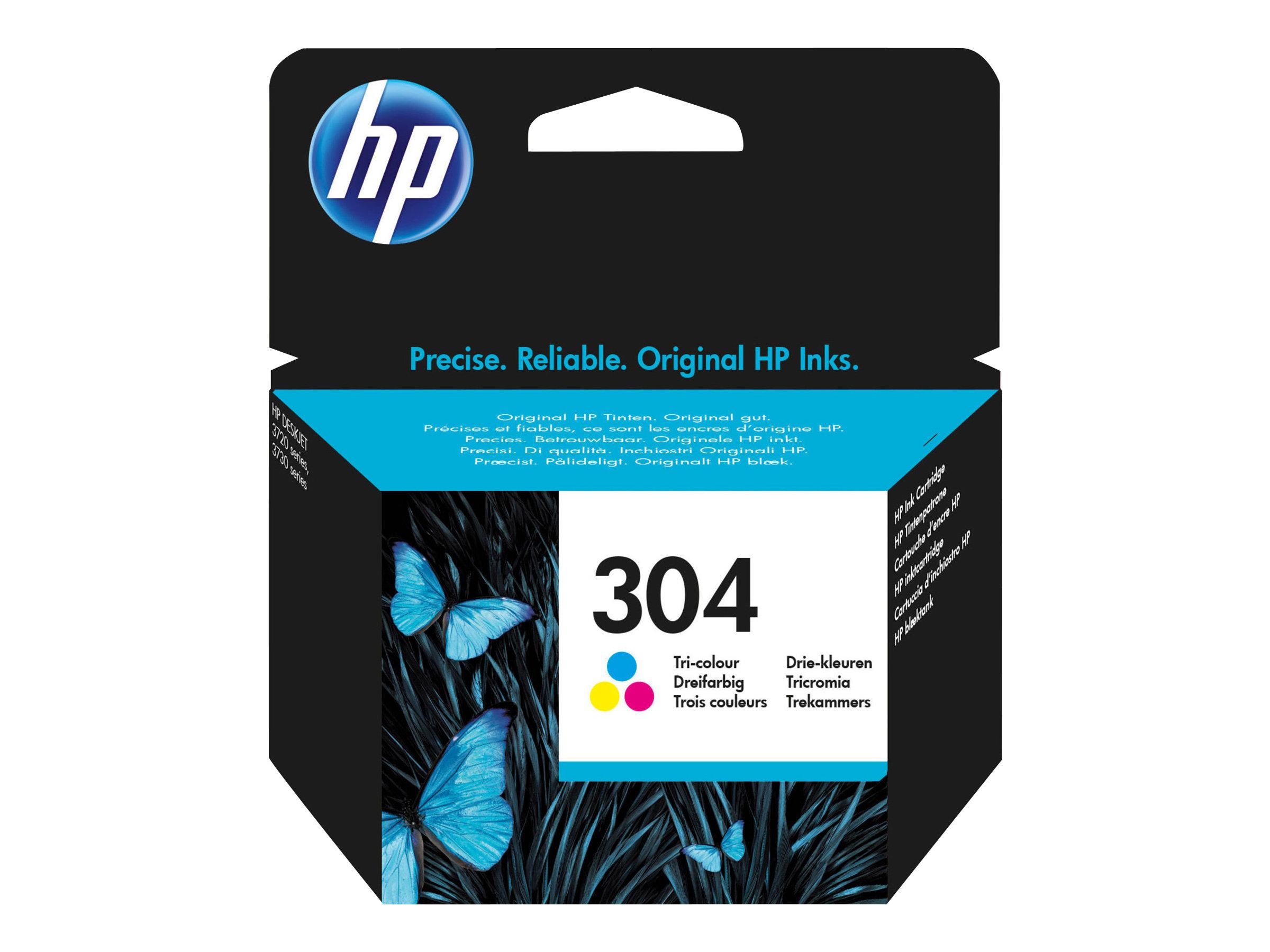 HP 304 - Farbe (Cyan, Magenta, Gelb) - Original