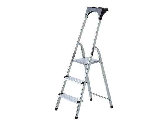 Brennenstuhl Stufenleiter - 3 Stufen - Aluminium