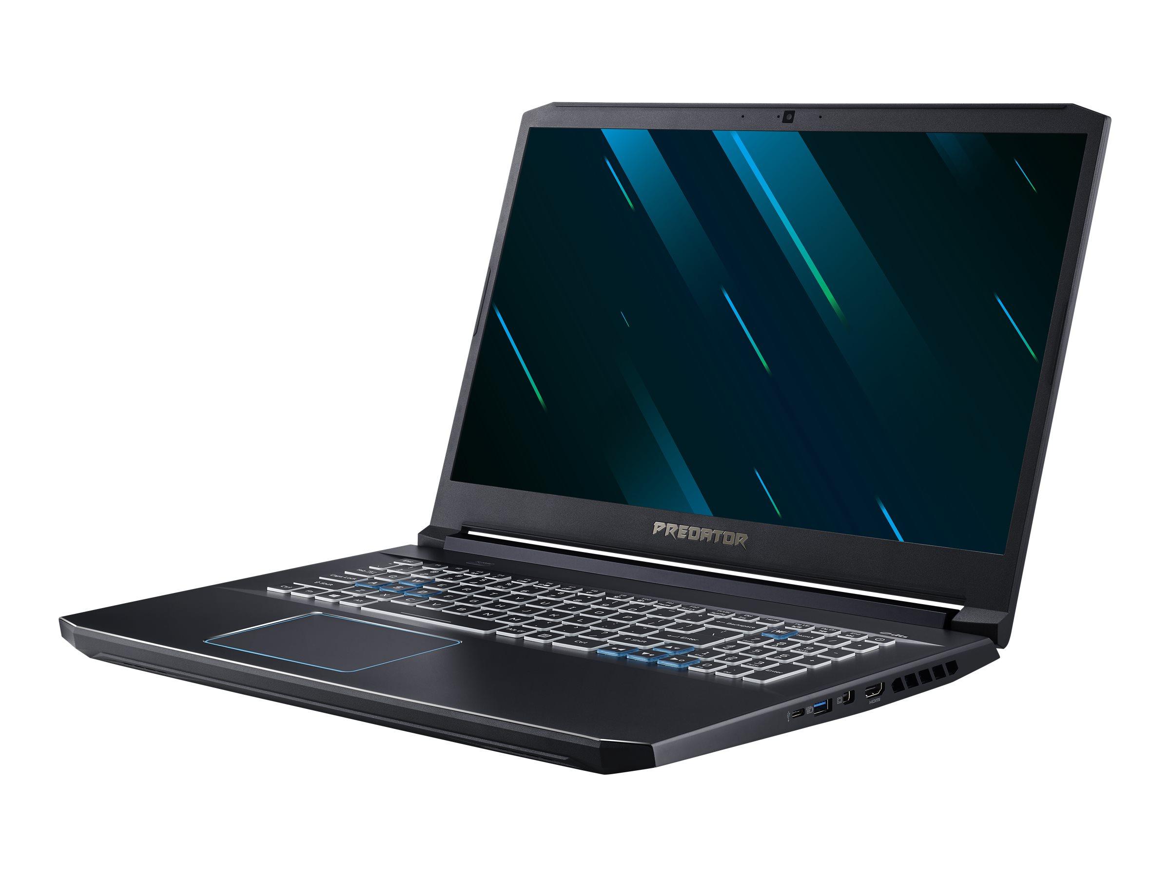 Acer Predator Helios 300 PH317-54-7446 - Core i7 10750H / 2.6 GHz - Win 10 Home 64-Bit - 16 GB RAM - 1.024 TB SSD SED -