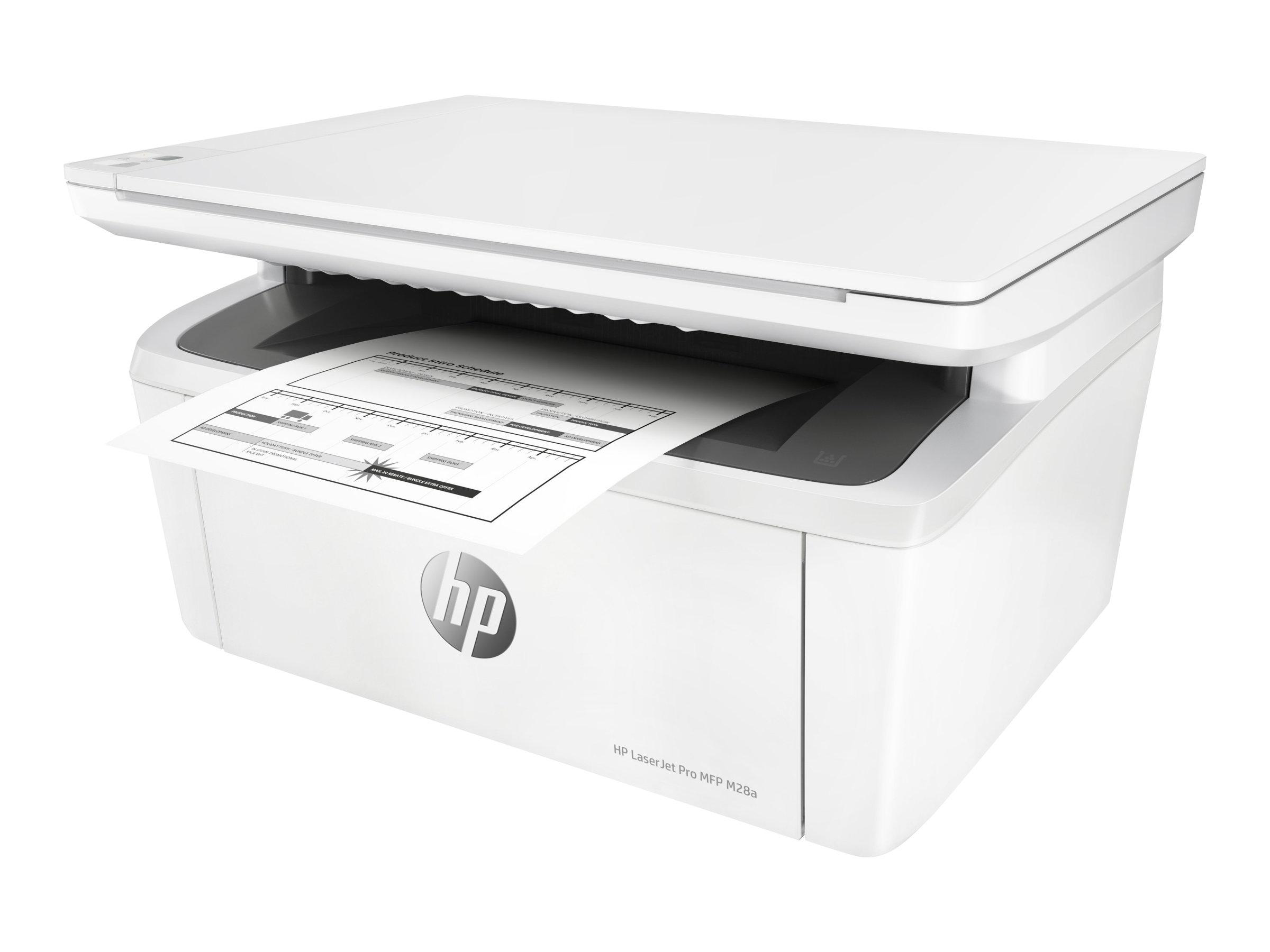 HP LaserJet Pro MFP M28a - Multifunktionsdrucker - s/w - Laser - 216 x 297 mm (Original)