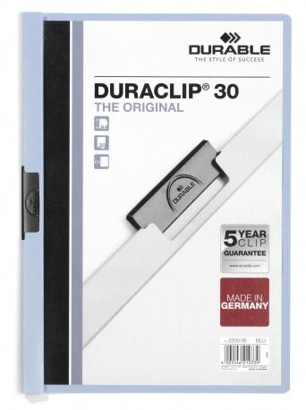 Durable 220006 - Duraclip 30 - Sammelmappe - PVC - A4